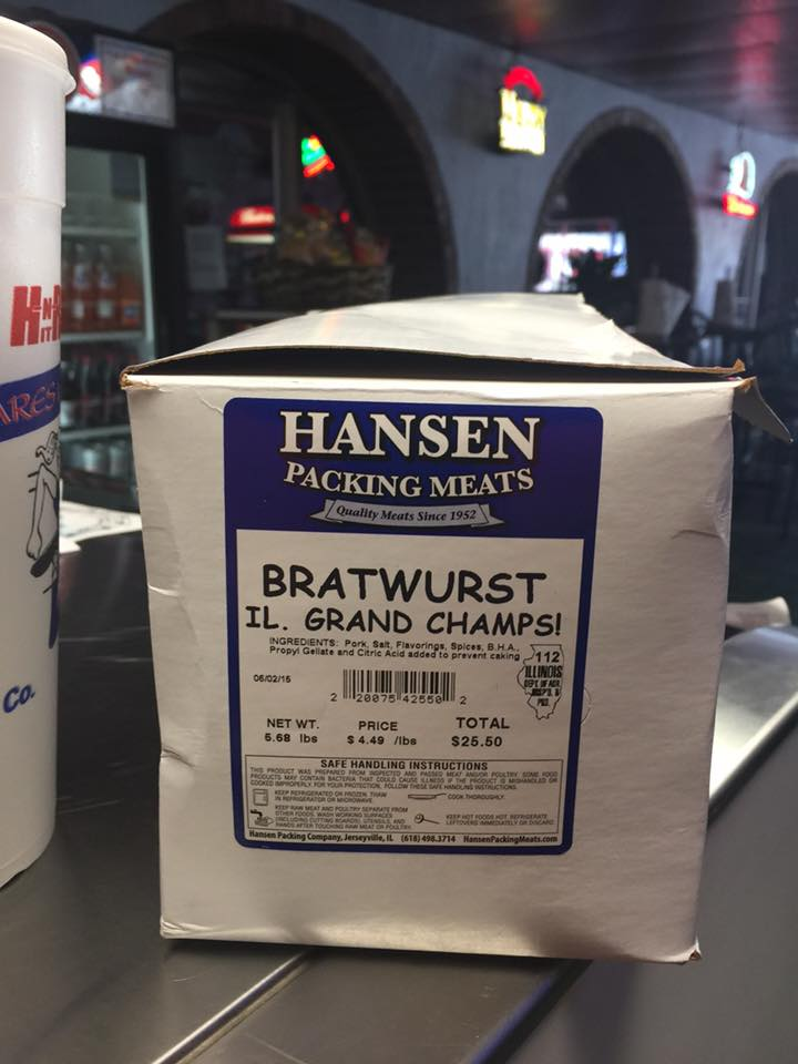Hansenbratwurst